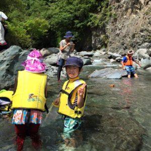 南アルプスで自然を遊び尽くす! 川遊び編