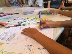 親子デザイン教室開催しました
